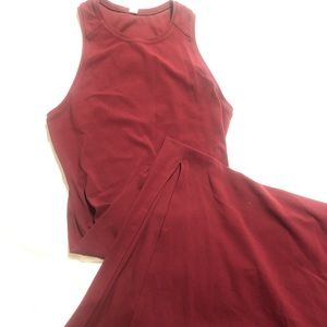 Lululemon maroon dress